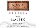 2009 La Riojana Raza Reserve Malbec