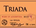 2010 La Riojana Raza Reserve Triada Malbec